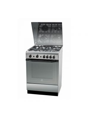 Indesit Gas Cooking Range 60 cm I6TG1GXGHEX